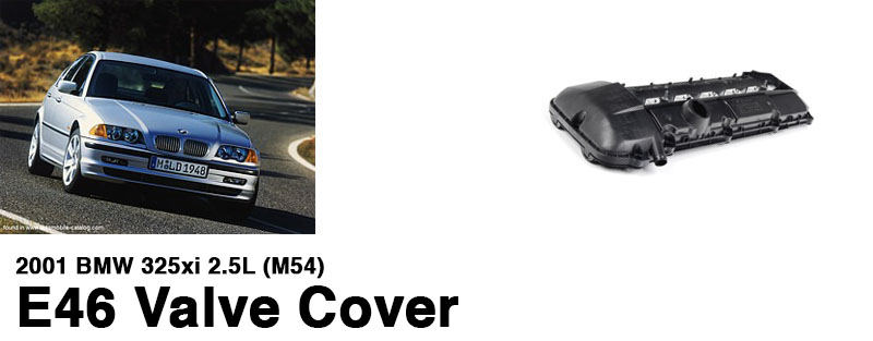 2001-bmw-325xi-2.5L-M54-E46-valve-cover-replacement