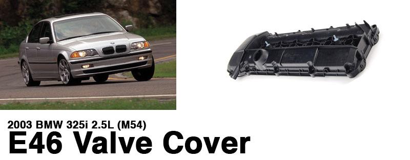 2003-bmw-325i-2.5l-M54-e46-valve-cover